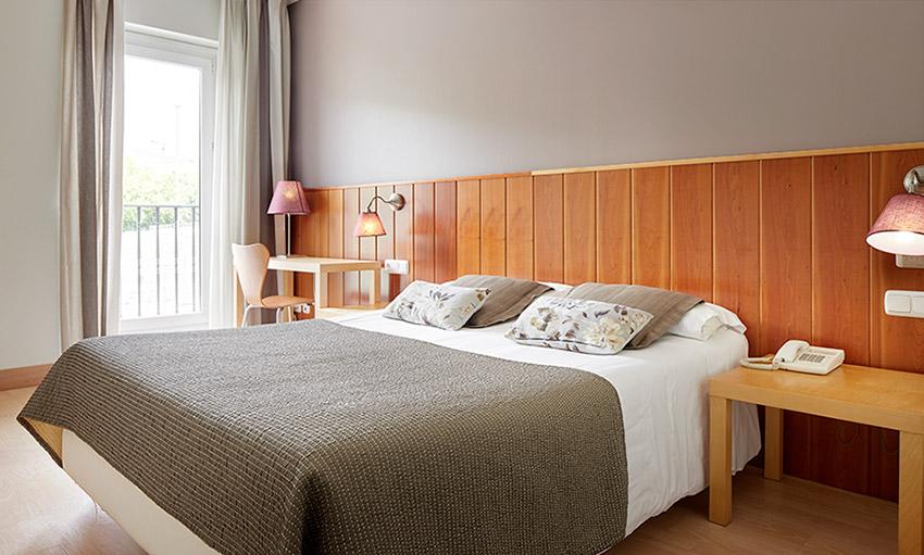 Hotel en Navarra habitación doble